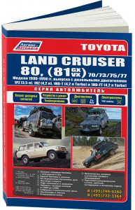 Книга Toyota Land Cruiser 80