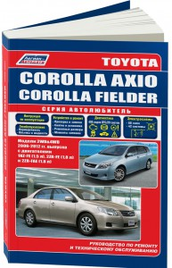 Книга Toyota Corolla Axio
