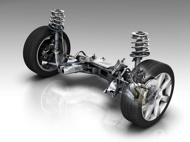 Подвеска автомобиля: устройство и ремонт