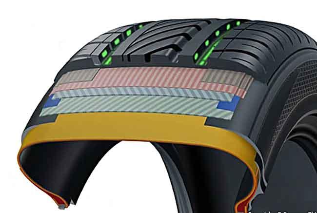 Бескамерные шины: преимущества и особенности