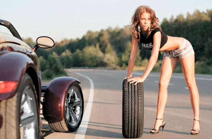 Как самостоятельно поменять шину