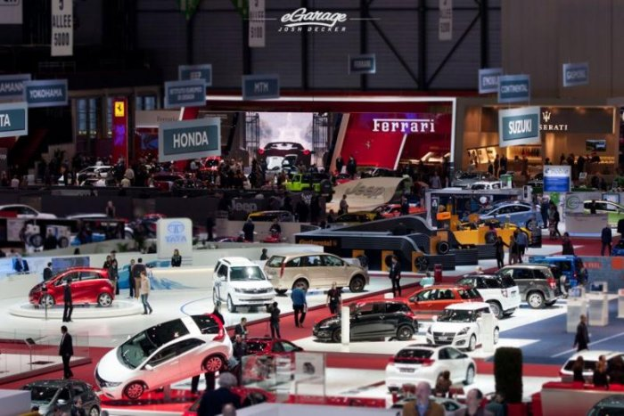 В Европе закрывается крупная автомобильная выставка