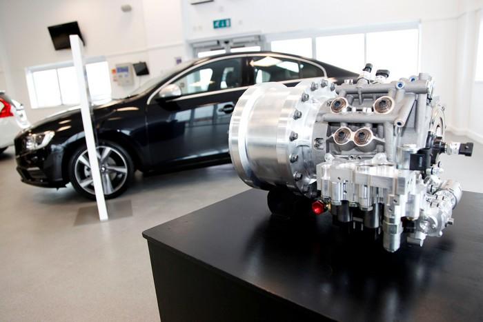 Volvo тестирует инновационную гибридную систему