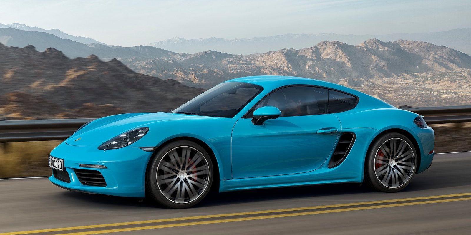 Новый Porsche Cayman S