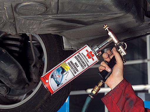 Защита кузова автомобиля от коррозии