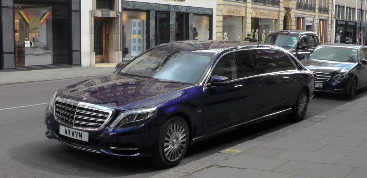 Актуальное поколение Mercedes Pullman – основного представительского лимузина